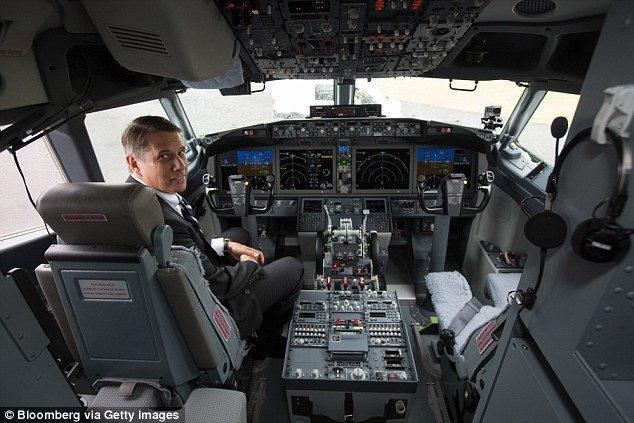 کاهش تعداد خلبان های بوئینگ به یک نفر
