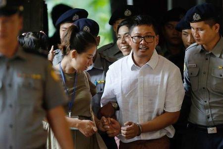 انگلیس هم به حکم حبس خبرنگاران رویترز در میانمار واکنش نشان داد