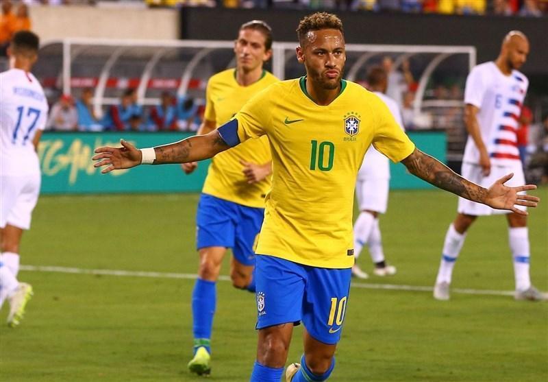فوتبال دنیا، پیروزی برزیل مقابل آمریکا در یک بازی دوستانه، آرژانتین بدون مسی و با گل پسر سیمئونه برد