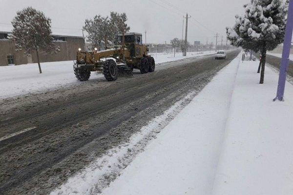 راه 115 روستا در هشترود بازگشایی شد