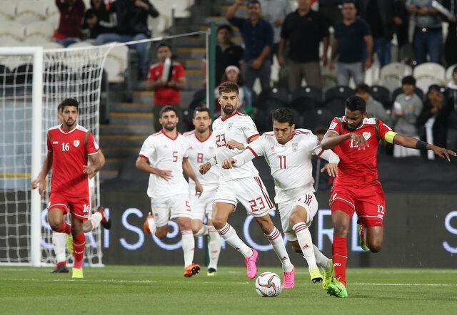 رجحان ایران در آمار به جای مانده از بازی با عمان