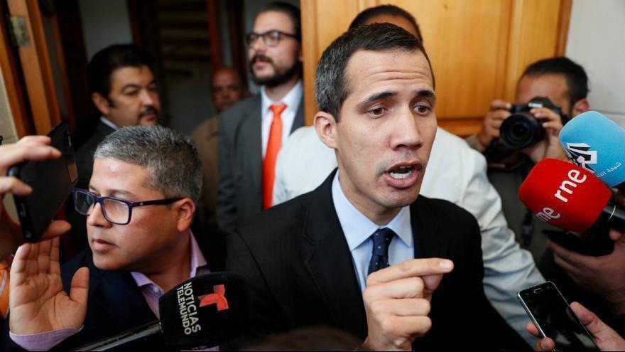 ونزوئلا ، خوان گوآیدو ممنوع الخروج شد