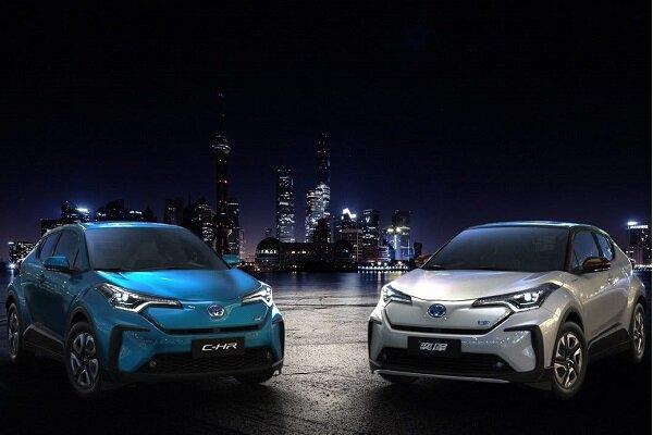 فراوری دو خودروی برقی توسط تویوتا برای بازار چین