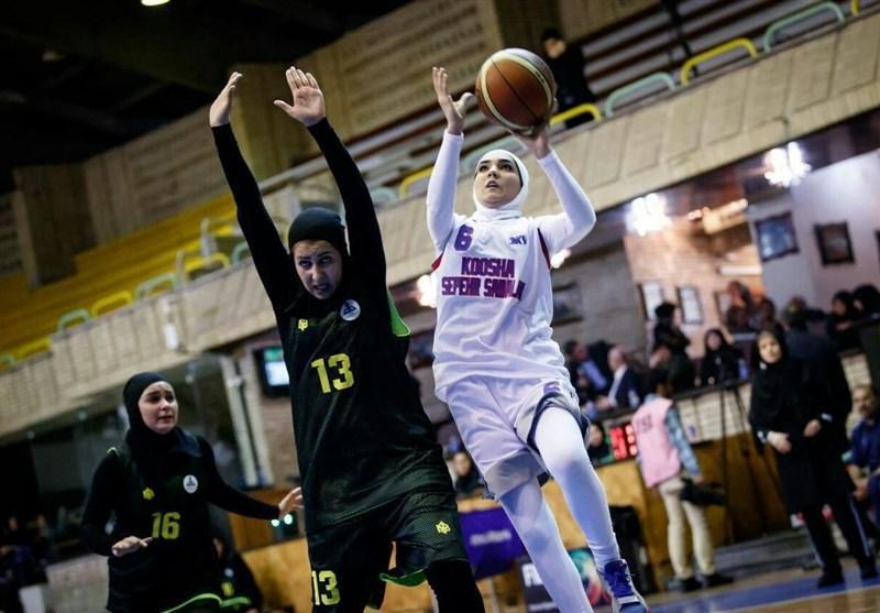 بسکتبال سه نفره بانوان آسیا، ایران با ترکمنستان هم گروه شد