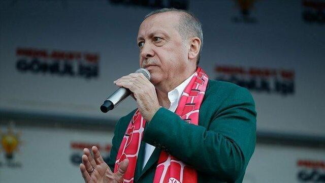 پیغام تبریک اردوغان به مناسبت عید نوروز