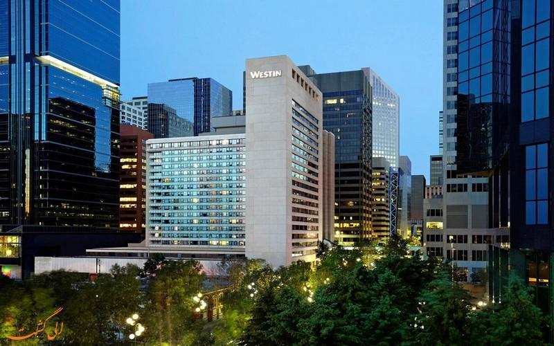 معرفی هتل 4 ستاره وستین کلگری کانادا