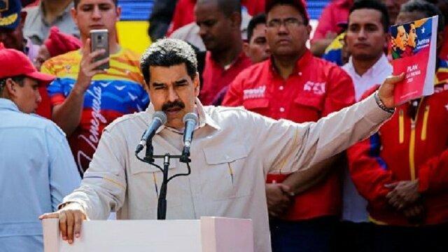 تحریم های بیشتر آمریکا علیه دولت مادورو