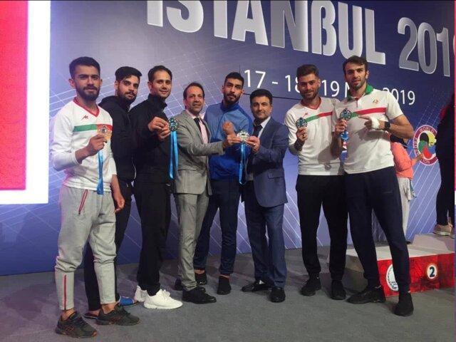 ایران قهرمان لیگ جهانی سری آ در ترکیه شد