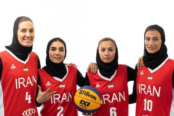 تیم ملی بسکتبال سه نفره ایران از دور مسابقات کاپ جهانی کنار رفت