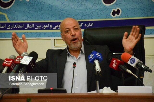 استاندار: اصفهان با وجود ادعای برخورداری، وضعیت خوبی در فراوری ندارد