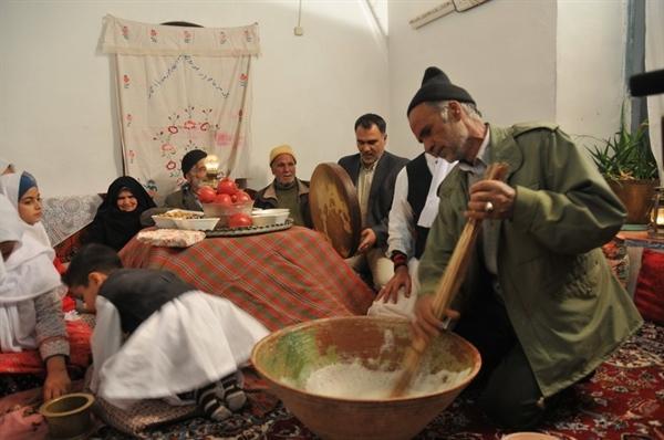 آیین سنتی چِراغوُ شوُ چِلهَّ در خلیل آباد برگزار می شود