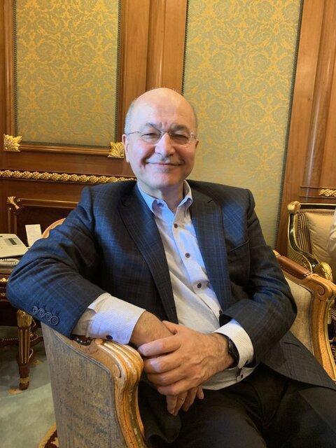 برهم صالح: خواستار جنگ در هیچ نقطه ای نیستیم