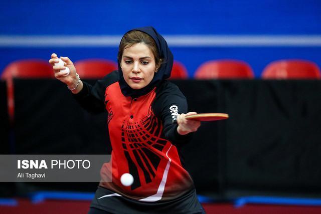 صعود بانوان پینگ پنگ باز ایران از مرحله گروهی قهرمانی آسیا