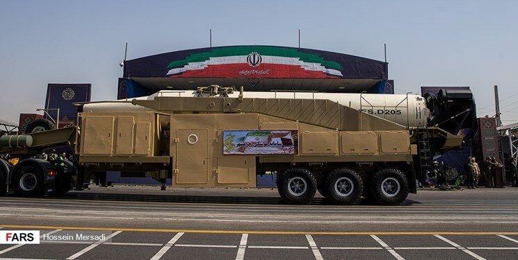 سرجنگی جدید موشک خرمشهر به نمایش درآمد