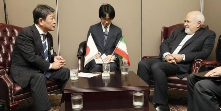 وزیر ژاپنی از ظریف چه درخواستی کرد؟
