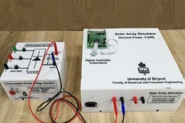 دستگاه شبیه ساز آرایه خورشیدی توسط محققان کشور ساخته شد