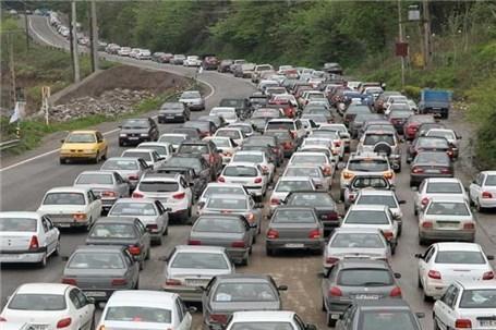 ترافیک در جاده های منتهی به مرز های چهارگانه ، یک طرفه شدن محور مهران-ایلام