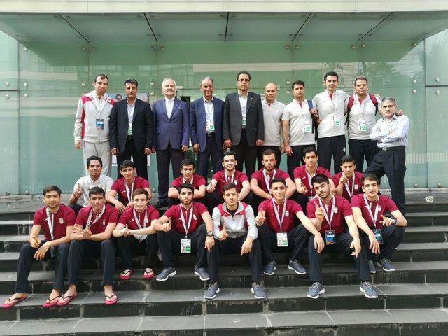 فوتسال زیر 20 سال ایران المپیکی شد، صعود شاگردان صانعی به فینال آسیا