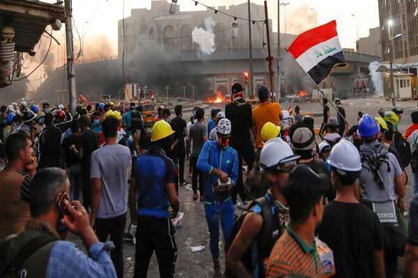 معترضان عراقی از روش های مسالمت آمیز استفاده کنند
