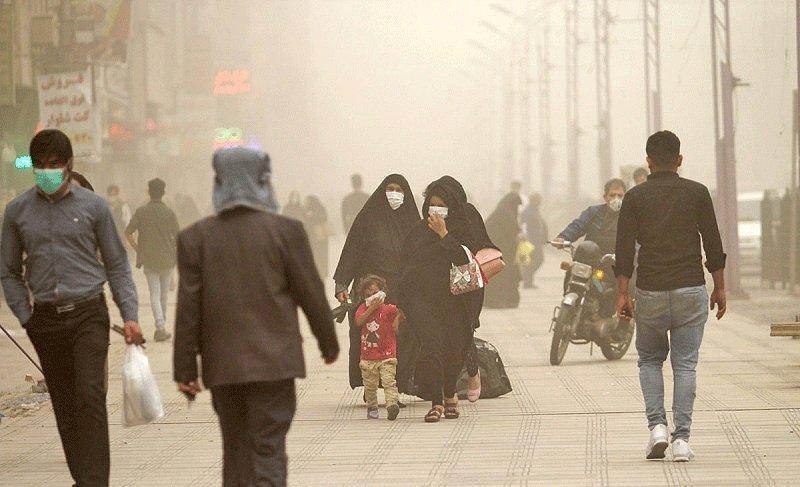 غبار در آسمان 5 کلان شهر