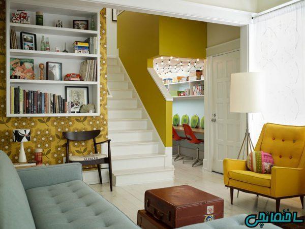 انتخاب رنگ و تاثیر آن در طراحی داخلی