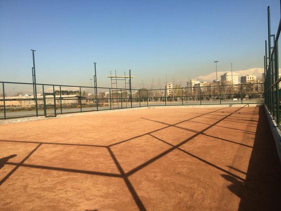 راه اندازی نخستین مجموعه تنیس خاکی جنوب تهران