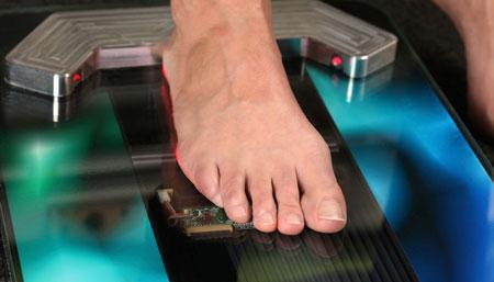 ساخت اسکنر سه بعدی کف پا در کشور محقق شد