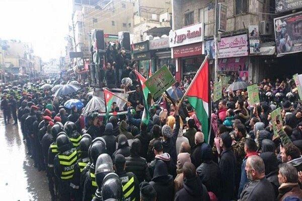 تظاهرات مجدد مردم اردن علیه معامله قرن
