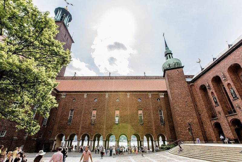 ساختمان شهرداری، معروف ترین نماد شهر استکهلم