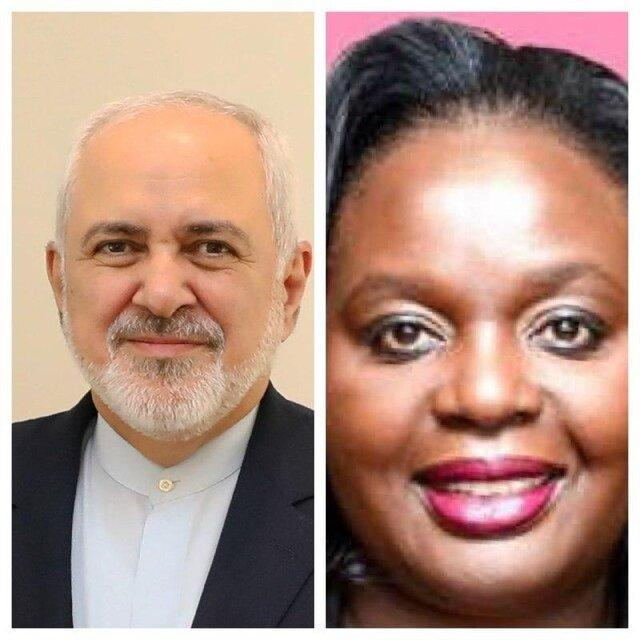 رایزنی وزیران امور خارجه ایران و کنیا