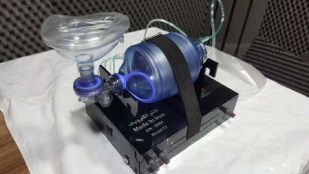 ساخت ونتیلاتور توسط فناوران پارک علم و فناوری مازندران