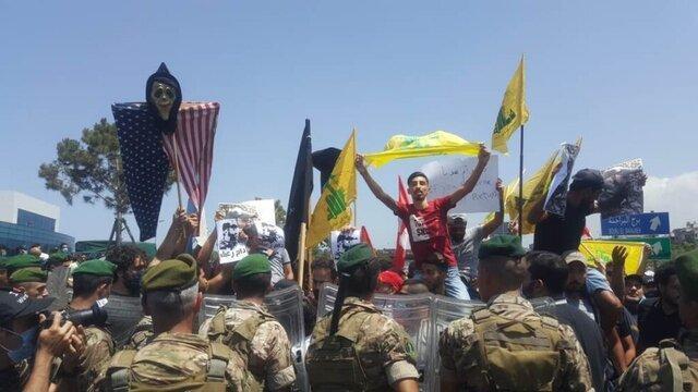 اعتراض لبنانی ها به سفر ژنرال آمریکایی به بیروت