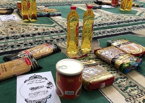 90 بسته غذایی از سوی دانشگاهیان دانشگاه لرستان بین نیازمندان توزیع شد