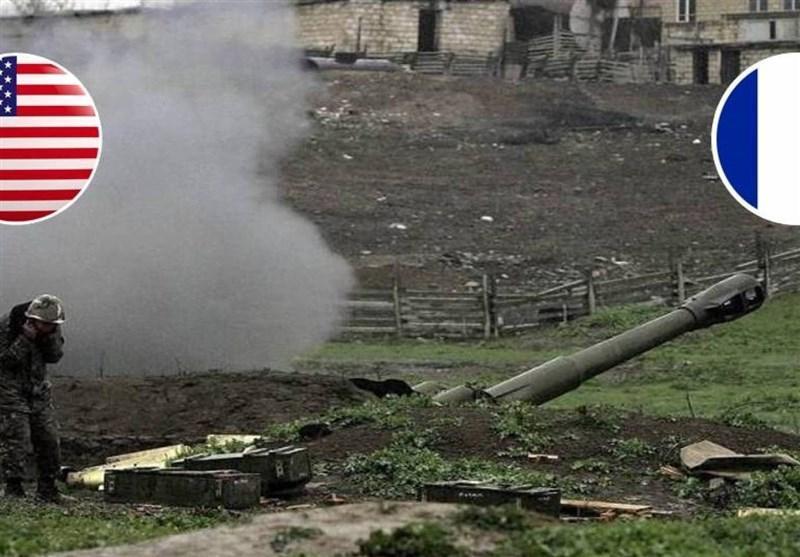 تاکید وزرای دفاع آمریکا و فرانسه بر لزوم برقراری آتش بس در قره باغ
