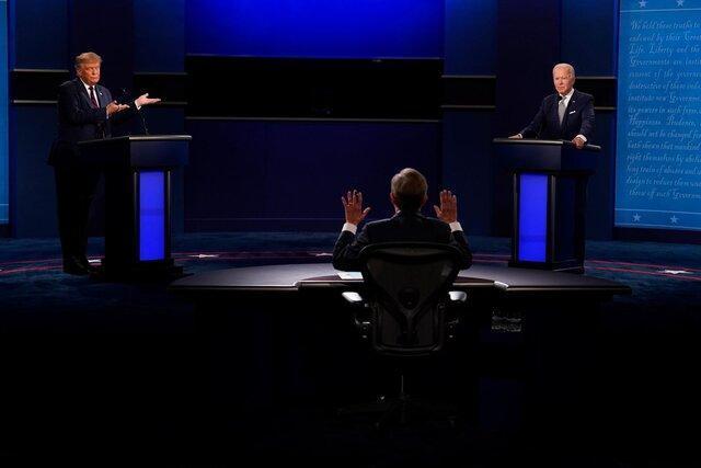 آمارهای مناظره پر تنش ترامپ و بایدن: 90 دقیقه بحث، 73 بار قطع صحبت