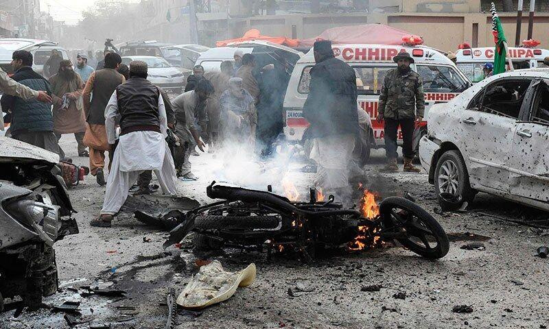 خبرنگاران انفجار در پاکستان جان 9 نفر گرفت
