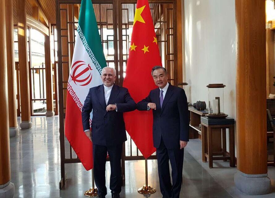 گزارش توئیتری ظریف از دیدارش با همتای چینی
