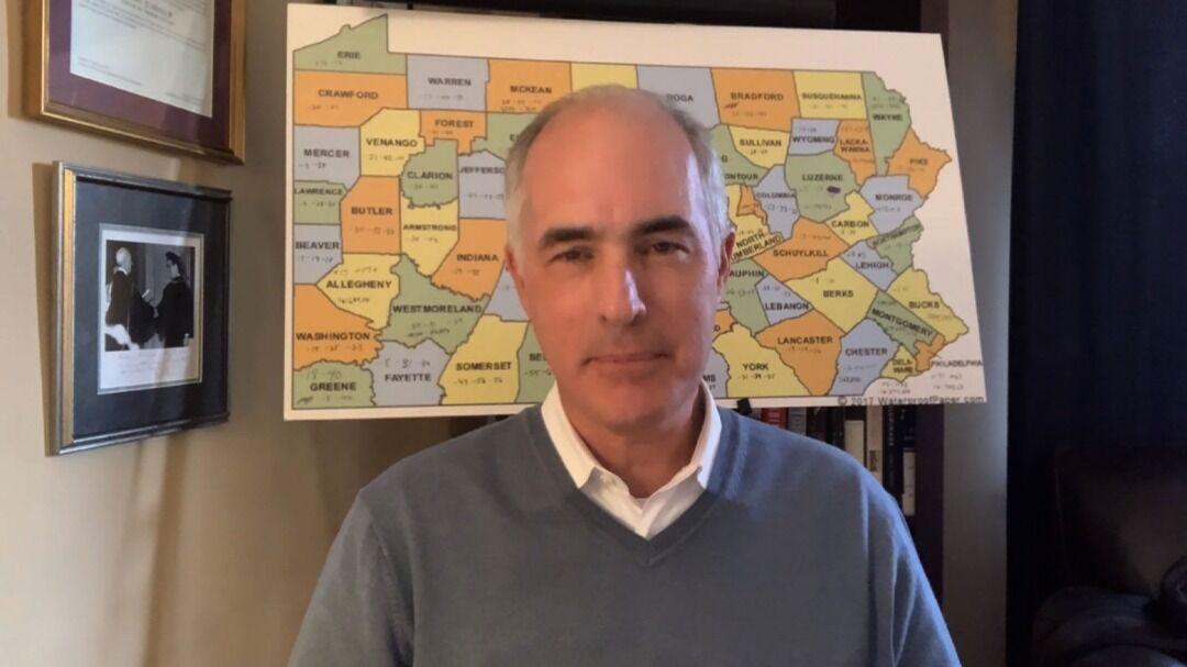 خبرنگاران سناتور دموکرات: پیروزی بایدن در ایالت پنسیلوانیا حتمی است