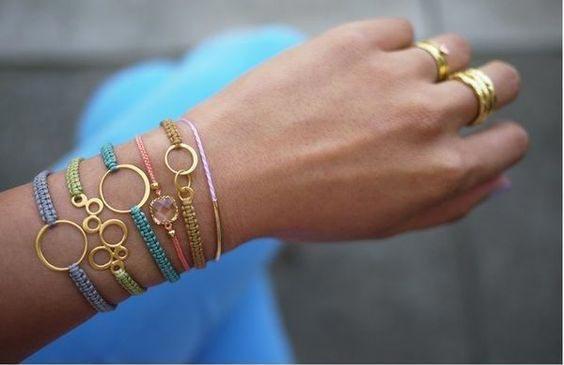 ساخت دستبند های شیک دخترانه در منزل