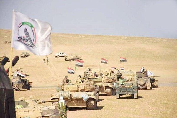 شروع عملیات گسترده حشد شعبی علیه داعشی ها در صحرای الانبار