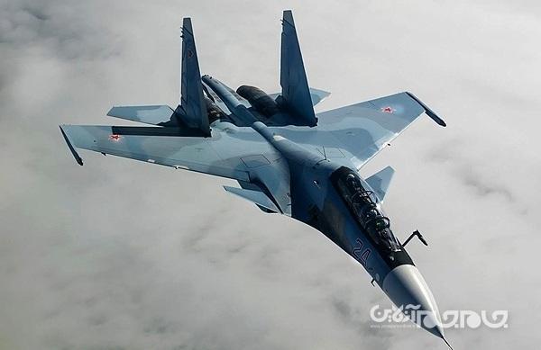 رهگیری جت گشت زنی ژاپن تووسط جنگنده سوخو-30 روسیه