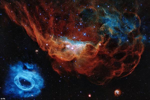 شگفتی های تلسکوپ هابل از فضا (گزارش تصویری)