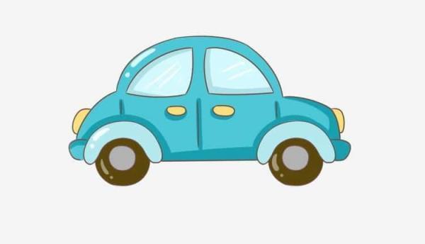 15 نمونه نقاشی ماشین بچگانه ساده برای رنگ آمیزی