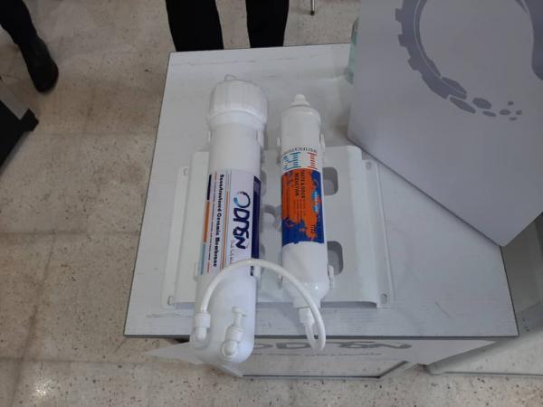 خبرنگاران تولید سامانه دومرحله ای تصفیه آب خانگی با غشای سرامیکی نانو
