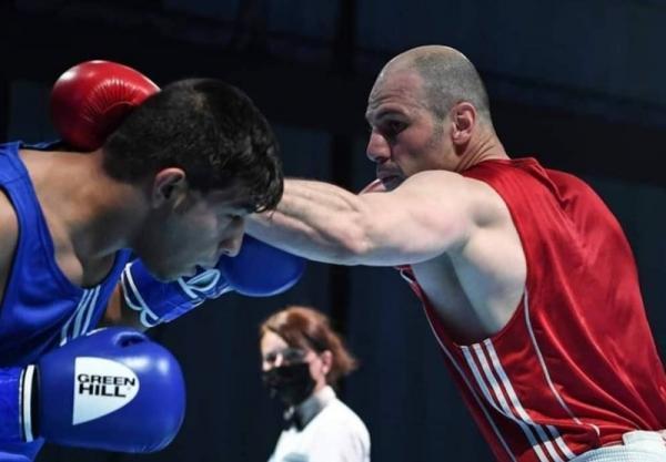 بوکس قهرمانی آسیا، حذف روزبهانی با شکست مقابل نایب قهرمان المپیک