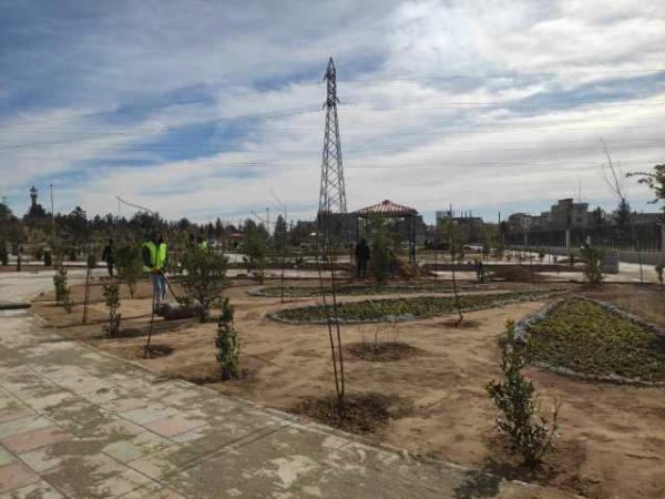 شمارش معکوس برای افتتاح بوستان عظیم مشاهیر کهریزک شروع شد
