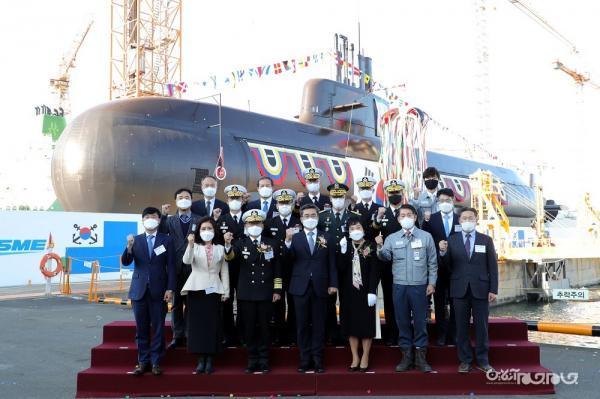 به آب انداختن زیر دریایی نو کره جنوبی