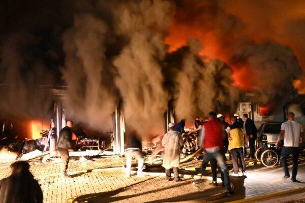 آتش سوزی در بیمارستان بیماران کرونایی در مقدونیه شمالی