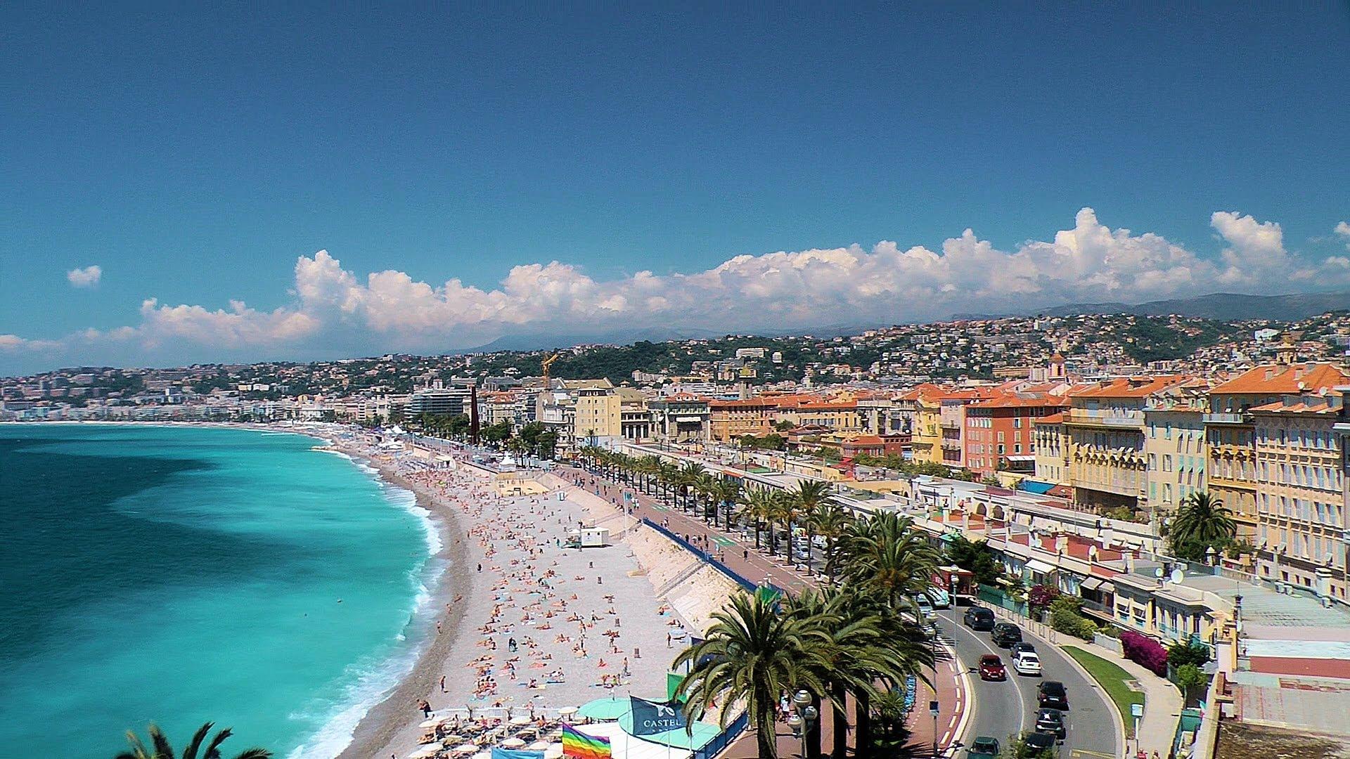 تفرجگاه پرومناد دز آنگله (Promenade des Anglais) نیس فرانسه