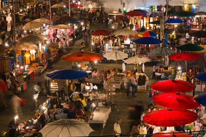 بازارچه شبانه چیانگ مای